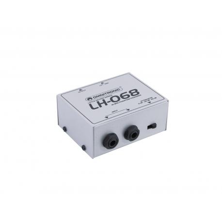 OMNITRONIC LH-068 DI Box Phantom-Powered