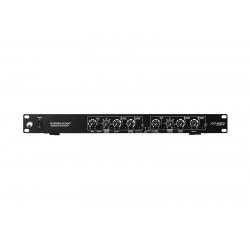 OMNITRONIC XO-230 2-juostų stereo, 3-juostų mono krosoveris