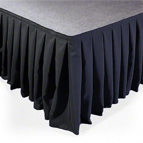 SKIRT-V60 pakylos sijonas 6m x 60cm velvetinis klostuotas