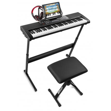 Sintezatoriaus komplektas MAX KB5SET Premium Kit su klavišų apšvietimu