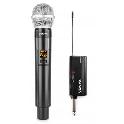 Bevielis mikrofonas VONYX WM55 Plug-and-Play UHF