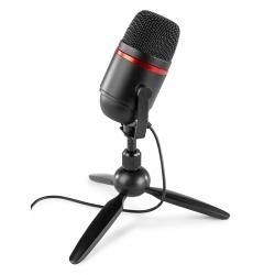 PCM100 kondensatorinis studijinis mikrofonas USB