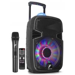 Fenton FT12JB 700W nešiojama kolonėlė su bevieliu mikrofonu ir šviesos efektu