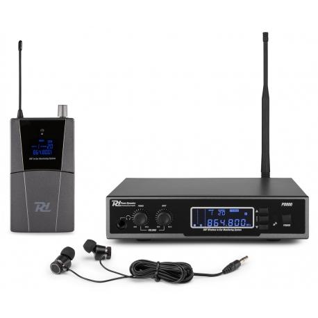 Power Dynamics PD800 In Ear monitoringo sistema UHF