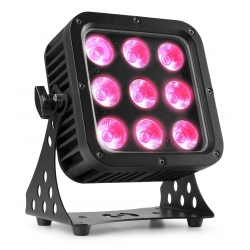 BeamZ StarColor72 LED Flood Light 9x 8W IP65 RGBW