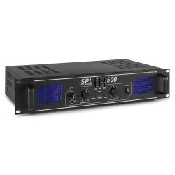 Skytec SPL 500 garso stiprintuvas 2x 250W EQ