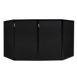 VONYX DB2 sulankstoma DJ užtvara 120 x 70 (4 Panels) juoda