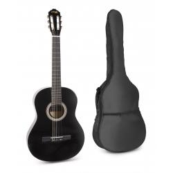 MAX SoloArt klasikinė gitara juoda - rinkinys