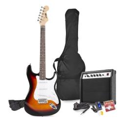 MAX GigKit elektrinės gitaros rinkinys sunburst