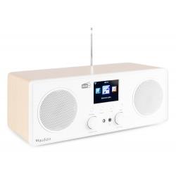 Audizio Bari WIFI internetinis radijo imtuvas su DAB+ baltas