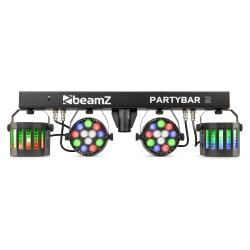 BeamZ Partybar2 rinkinys su stovu