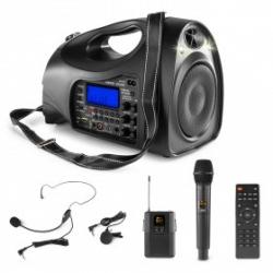 Vonyx ST016 nešiojama kolonėlė UHF Combi