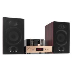 Fenton TA80S Stereo lempinis stiprintuvas su kolonėlėmis