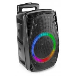 Fenton FT8LED-MK2 300W nešiojama kolonėlė su laidiniu mikrofonu