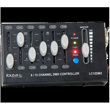 LC12DMX mini DMX valdiklis 12 kanalų