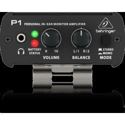 BEHRINGER POWERPLAY P1 IN EAR Monitorinis stiprintuvas ausinėms