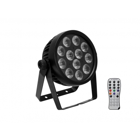 EUROLITE LED 7C-12 Silent Slim Spot RGBA/CW/WW+UV