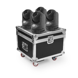 4x BEAM 60W LED Moving Head RGBW 4in1 Osram (SET)