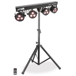 MAX LED Parbar rinkinys su stovu