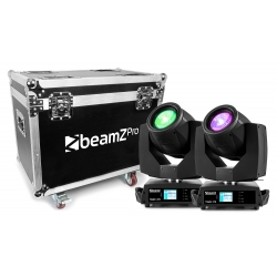 BeamZ TIGER E 7R 230W MK2 MOVING HEAD 2PSC IN FLIGHTCASE