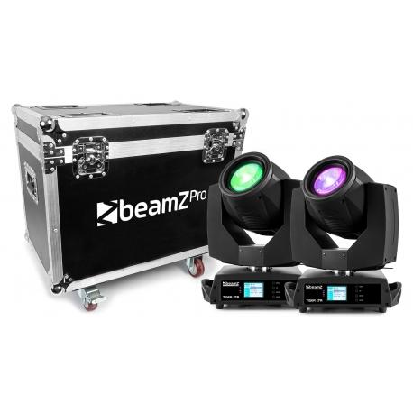 BeamZ TIGER E 7R 230W MK2 MOVING HEAD 2PSC IN FLIGHTCASE