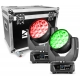 BeamZ MHL1915 LED ZOOM MOVING HEAD 2 PIECES IN FLIGHTCASE