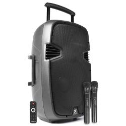 VONYX SPJ-PA915 nešiojama kolonėlė su 2 bevieliais mikrofonais