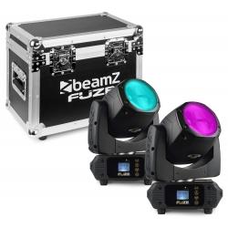 BeamZ Fuze75B Beam 75W LED Moving Head Set 2 Pieces in Flightcase