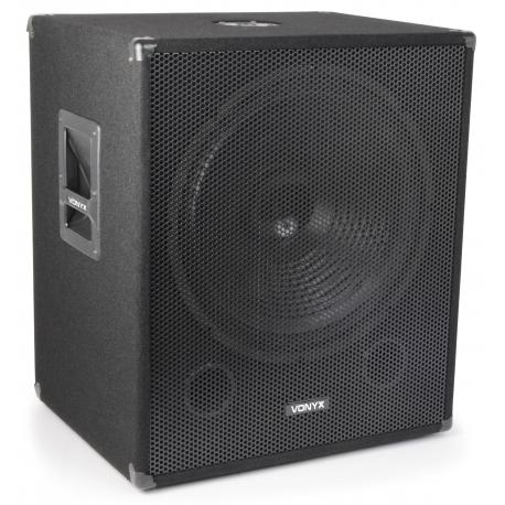 "Vonyx SMWBA18 Bi-Amplifier Subwoofer 18"" 1000W"
