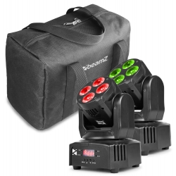 BeamZ MHL36 Moving head set of 2 pieces in bag