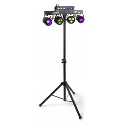 PartyBar10 Set 2x Jelly Moon, 2xPAR and UV/Strobe