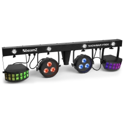 BeamZ SHOWBAR FREE 2x PAR, 2x Derby and Strobe