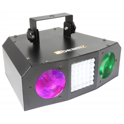 BeamZ Uranus LED Double Moonflower with Strobe