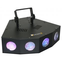 BeamZ Mini 4 Head Moon LED