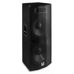 "VONYX CVB215 PA Speaker Active 2x 15"" BT MP3 1600W"