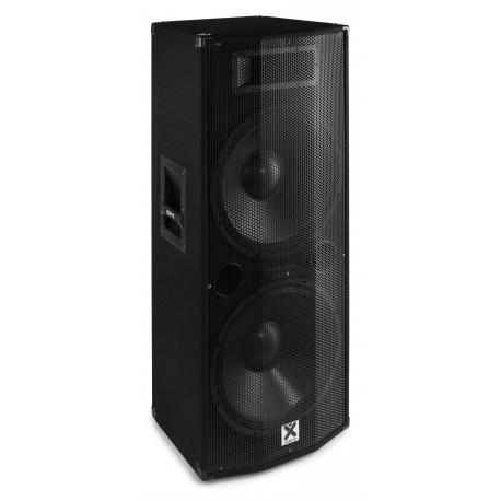 "VONYX CVB215 PA Speaker Active 2x 15"" BT MP3 1600W"