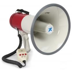 VONYX MEG050 Megaphone 50W Record Siren Microphone