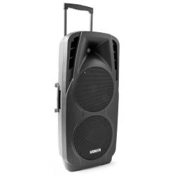 VONYX SPX-PA9210 nešiojama kolonėlė su 2 bevieliais milkrofonais