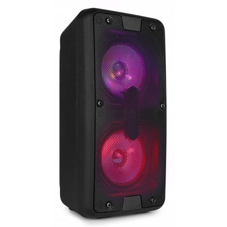 "Fenton SBS65 PARTY SPEAKER 2X 4"" BT LED USB"