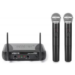 VONYX STWM712 VHF Microphone System 2-Channel
