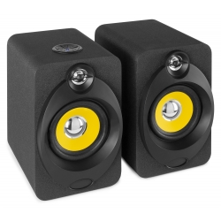 "VONYX XP40 Active Studio Monitors (Pair) 4"" USB BT"