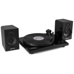 Fenton RP160B Record Player BT Set Black