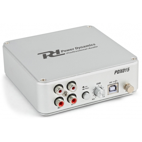 PDX015 USB Phono Pre-amplifier with Software