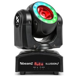 BeamZ Illusion 1 Moving Head LED Beam with LED Ring