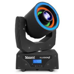 BeamZ Illusion II Moving Head 3 LED ring 30W Spot