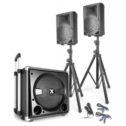 Vonyx VX840BT 2.1 Active Speaker Set