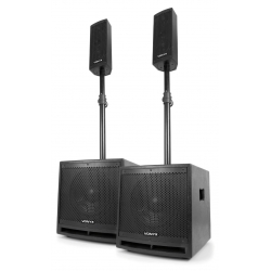 Vonyx VX1000BT Active Speaker Kit 2.2