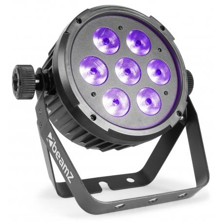 BeamZ BT280 LED Flat Par 7x10W 6-in-1 RGBAW-UV