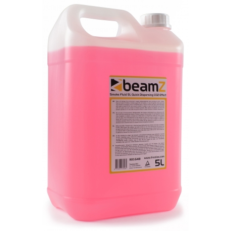 BeamZ Smoke Fluid 5L Quick Dispersal CO2 Effect