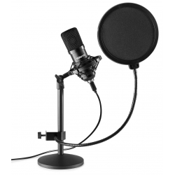 VONYX CMTS300 Studio Microphone Set Black
